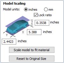 Import a Component or 3D Model - Rotary - VCarve Desktop V9